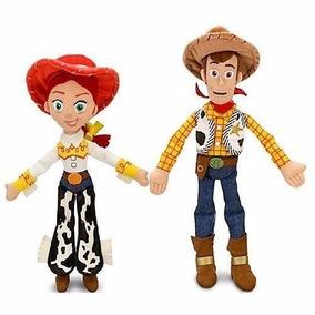 Pelúcia Toy Story Woody E Jessie Original Disney Com 30 Cm