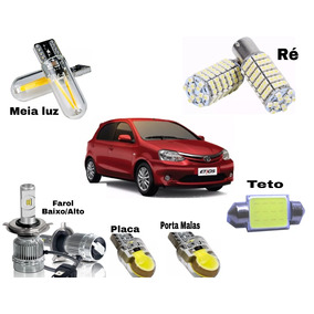 Super Kit Super Led Branca Etios