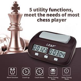 Inkint Professional Digital Ajedrez Reloj Cronómetro Con Al