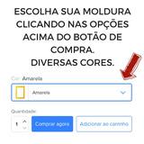 Moldura ( A4 ) P/ Certificado Diploma Gravura Cores(10 Pçs)