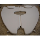 Estofado Solarium Colchão Proa Focker255 Cor Branco Completo