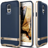 Bumper Samsung Galaxy S5 Policarbonato + Caja Goma Suave