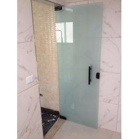 Porta Pivotante Em Vidro Temperado - Apenas Rj