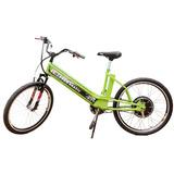 Bicicleta Elétrica Mtb 800w 48v 12ah Verde