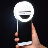 Aro Luz Led Recargable Selfie Iphone Samsung Flash Android