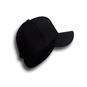 Boné Gorro Touca All Black