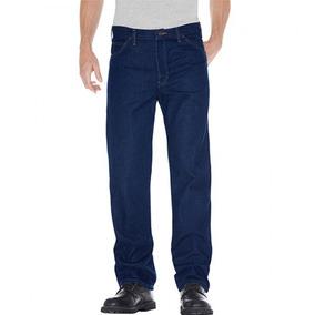 Pantalon Industrial De Mezclilla Trabajo Uso Rudo Caballero
