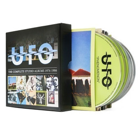 Ufo The Complete Studio Albums 1974-1986 Box Set 10 Cds