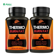 Kit 2 Thermo Burn Fat Acelerador Metabólico 200 Caps 500mg