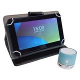Tablet Net Runner 7 Q.core 8gb + Funda + Parlante Bt 87-300