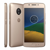 Smartphone Motorola Moto G5 32gb Ouro Dual Chip 4g - Câm. 13