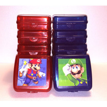 Sandwichera Personalizada - Mario Bros Y Luigi