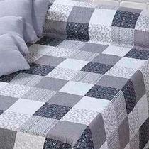 Cover Quilt Twin Size Blanco/negro/azul Varios Diseños!