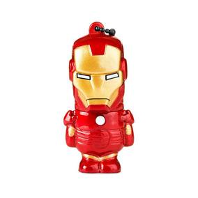 Pen Drive Marvel Homem De Ferro 8gb Pd081 Multilaser