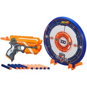 Nerf - Lançador N-strike Elite Com Alvo Precision Target Set