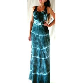 Vestido Musculosa Maxi Largo Gris Batick, Colores Y Lisos