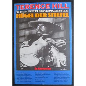 Terence Hill Bud Spencer Cartaz Original Cinema Western