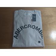 Camiseta Abercrombie Masculina Original Graphic Logo Eua