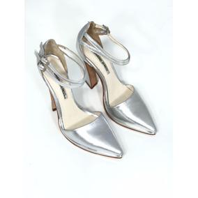 Zapatos - Sandalias- Stilettos - Plata - Saverio Di Ricci