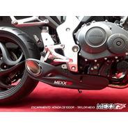 Ponteira Escapamento Honda Cb 1000r Taylor Made Mexx Cod.124