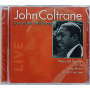 Cd John Coltrane - Live At The Half Note - Importado Lacrado
