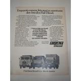 ( L - 290/ G ) Propaganda Antiga Caminhões Fiat 1977