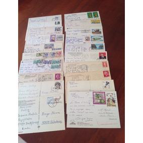 Cartões Postais - Lote De 50, Selados,e Carimbados