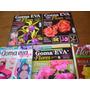 Lote X 5 Revistas Goma Eva Flores Modeladas Rosas Orquidea P