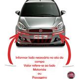Friso Para-choque Dianteiro Cromado Fiat Idea 11-15 Original