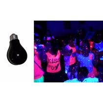3 Focos De Luz Negra Luz Neon, Para Fiestas Envio Gratis