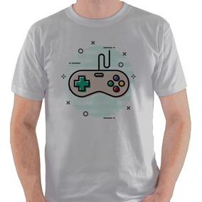Camiseta Controle Nintendo Jogo Videogame Snes Camisa Blusa