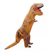 Disfraz Inflable Para Adulto En Forma De Dinosaurio T-rex