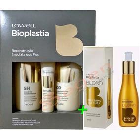 Kit Bioplastia Reconstrutor Capilar + Balsamo Da Cura-lowell