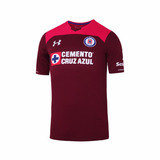 Jersey Under Armour Futbol Cruz Azul Portero Fan 17/18 Niño