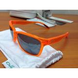 [[ Oferta ]] Lentes Oakley Forehand - Neon Orange Originales