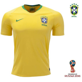Camisa Seleção Brasileira Adulto Copa 2018 Oficial Nike