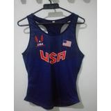Esqueletos Blusas Camisetas Busos Tops Atletismo X2 Paises