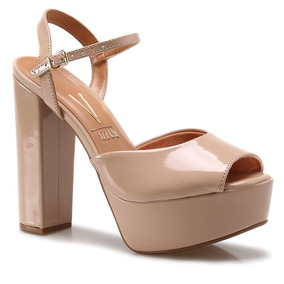 Sandalia Vizzano Zapato Mujer Taco Palo 14.5 Cm 6282-100
