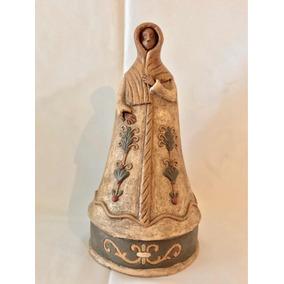De Perú, Hermosa Virgen Hecha En Barro