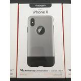 Capa Spigen P/ Iphone X 10 Edição Limitada Classic One