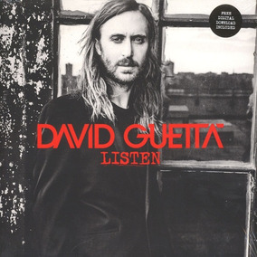Disco Vinilo Doble David Guetta - Listen