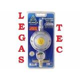 Registro Regulador Gás C/ Manômetro Aliança 506/01 - 2 Kg