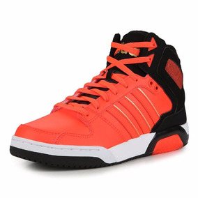 Zapatillas Botitas adidas Neo Bb9tis Mid Naranja C/negro