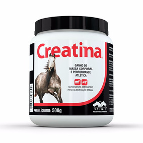 Creatina Suplemento Para Cavalos E Cães Vetnil 500g