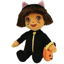 Idad Beanie Baby - Dora La Exploradora (cat Costume) [toy]