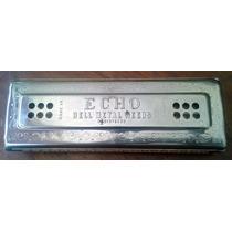 Harmonica Vintage Mhohner 80 Orificios Doble Cara 2 X 40 Cañ
