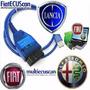 Interface Fiat / Alfa Romeo Scanner Usb K-line Vag Kkl 409