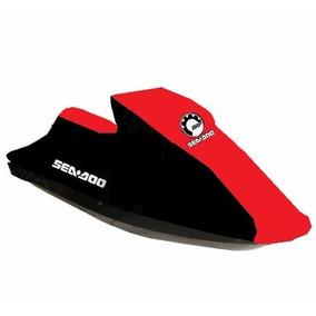 Capa Jet Ski Sea Doo, Kawasaki E Yamaha Vermelha