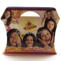 20 Cajas Cajitas De Carton Soy Luna Souvenirs Nenas Mujeres