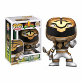 Pop White Ranger Funko En Stock